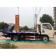 2016 Neuer Euro IV Mini china Abschleppwagen, 4200 * 2300 mm Plattform Abschleppwagen Verkauf in Chile