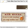 Rustic Decorative Metal Word Signs