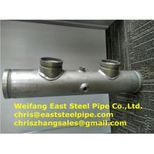 Weifang Este accesorios soldado UL tubería de acero FM