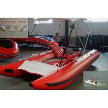Лодка катамаран CE HH-P380 надувные высокая скорость