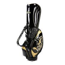 Modèles brodés en PU avec sac de golf à crampons