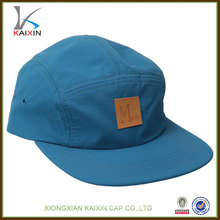 5 panel leisure caps/high quality waterproof fishing rain hats/applique logo cap and hat with your own logo