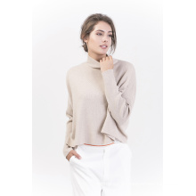 Damenmode Pure Color Cashmere Pullover