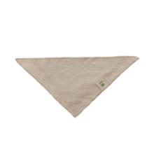 Babero de algodón orgánico natural para bebés