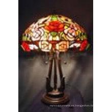 Decoración del hogar Tiffany lámpara de mesa de la lámpara T16706s