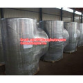 carbon steel stainless steel reducing tee fittings