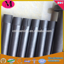 Low porosity graphite rod