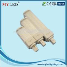 2014 promotionnel nouveau design 10w 20pcs smd 2835 2g11 base led lampe