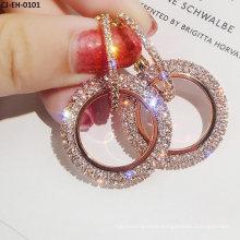 Circle Full Goddess Earring Earring Earring Buckle Creative Trinket Manufacturer Direct Sale