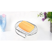 Stainless Steel Bathroom Soap Dishes Box Holder Tray