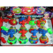 Горячий продавать волчок игрушки с легкой музыкой