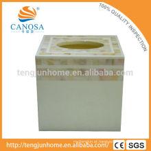 Canosa MOP Shell coleção shell tecido caixa de hotel