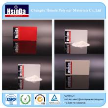 Epoxy Poliéster blanco rojo gris arruga capa de la capa del polvo del aerosol de la textura