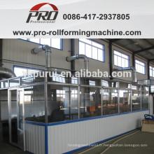 Salle de peinture pour production de canon en acier de 216,5L