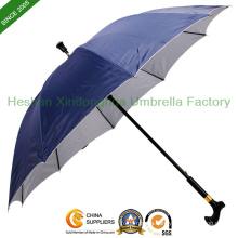 10 Ribs Unbreakable Walking Stick Umbrella (SU-1028B)