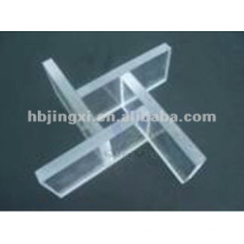 Folha rígida do pvc transparente usada no protetor do equipamento