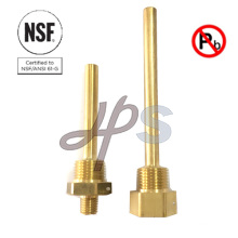 Low Lead Brass Compliant Brass Thermowell