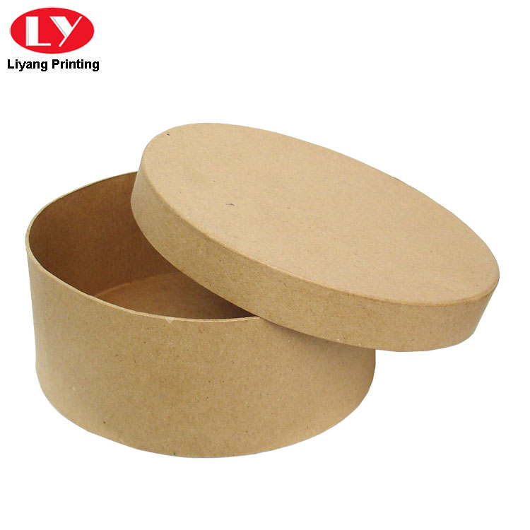 Round Kraft Cookie Box