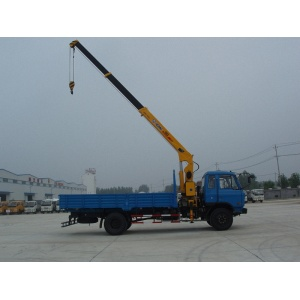 Dongfeng used hydraulic truck cranes for sale