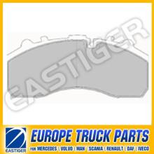 Pièces de camion pour plaquettes de frein Daf 29087