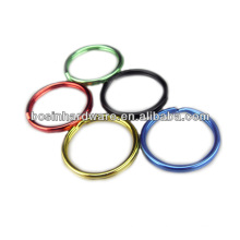 Good Quality Popular Metal Colored Split Key Rings