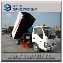 Isuzu 600p 4X2 City Street Road Sweeper Truck