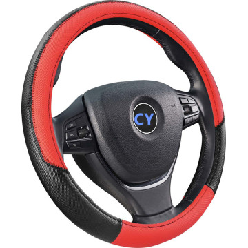 New Fashion Design for Cheap PU Steering Wheel Cover european style steering wheel cover suppliers supply to Indonesia Supplier