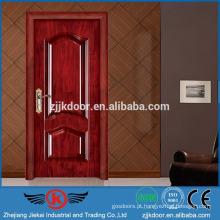 JK-SW9201 portas de madeira modernas modernas de luxo para espaços pequenos