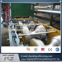 Flexible de producción de techo de aluminio cumbrera máquina tapa fabricada en China con bajo precio