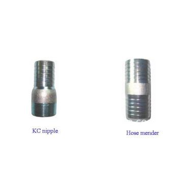 steel KC nipple/hose mender