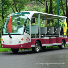 14-Seater Tourist Electric Sight Seeing Bus for Scenic Spots (DN-14)