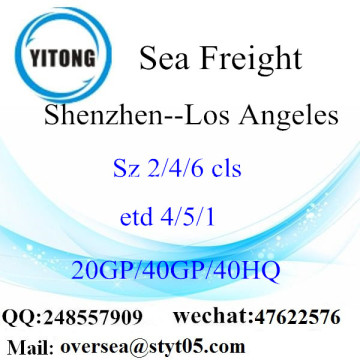 Shenzhen Port Sea Freight Shipping ke Los Angeles
