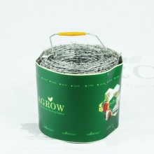 AGROW Galvanized Barbed Wire Fence