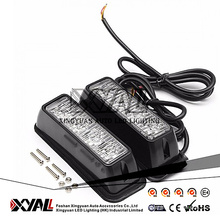 12W Super Bright SWAT Car Special Vehicles used LED Emergency Warning Signal Waterproof 12V - 24V Strobe Flashing Light