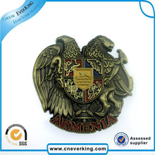 OEM Soft Enamel Safety Badge Custom Metal Lapel Pin