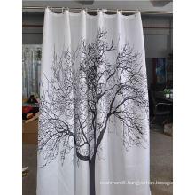 100% Polyester Bath Shower Curtains
