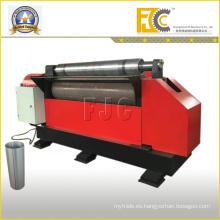 Bote de basura de acero hidráulico que hace la máquina