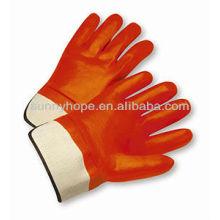 Зимние ПВХ полностью покрытые рабочие перчатки