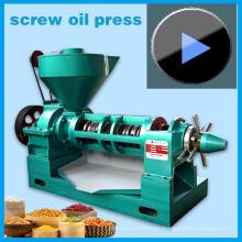 Máquina de prensa de aceite espiral Yzyx130gx hasta 10tons