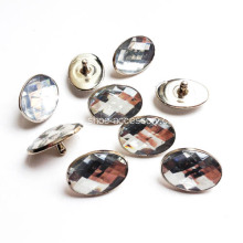 Crystal Rivets with Elliptical Shape 13x18mm