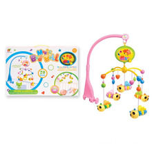 Electric Musical Lovely Rotating Bed Bell Plastic Baby Toy