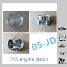 Pistón de motor auto duradero de alto rendimiento para VW 05-JD