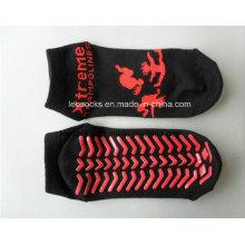 Прыжок носок для клуба батут носки противоскользящие Противоскользящие носки
