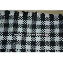 Tissu confortable de chaise de sofa de pouf rempli par mousse de meubles de salon