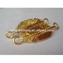 Aduana accesoria vendedora caliente del bolso cualquier etiqueta del bolso del metal del color