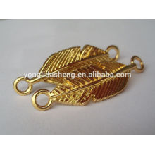 hot selling clothing accessory gold metal garments label logo