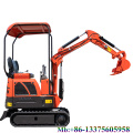 Nueva mini excavadora de venta directa de fábrica de excavadora pequeña de 1,2 toneladas a la venta