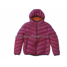 Ladies padded  jacket ,down-like jacket