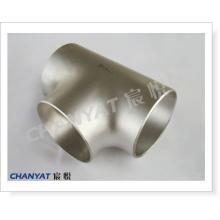 A403 (304 310S 316 317 321 347) ASTM Bw-Fitting Нержавеющая сталь тройник