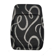 Car Carpet Tray Foot Pad Ribbon Pattern